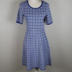 Retro Look Talbots Fit-n-Flare Dress EUC MP